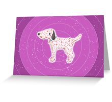 Star Pup Greeting Card