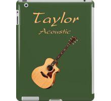 Taylor Acoustic Guitar iPad Case/Skin