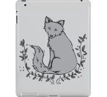 Gray Fox iPad Case/Skin