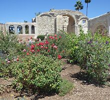San Luis Rey Mission Gardens by Marielle O'Brien