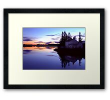The Watermans House Framed Print