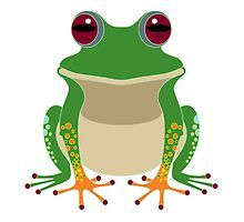 FINGERS & TOES FROG by Jean Gregory  Evans