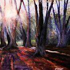Light Overcomes Darkness by Lynn  Abbott