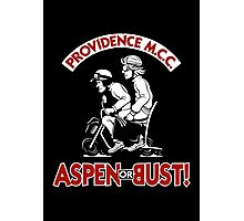 Aspen or Bust! Photographic Print