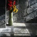Flowers on Slate by joconti