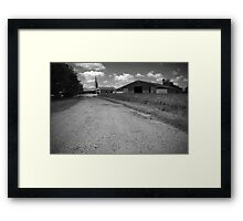 Back to the Village Framed Print