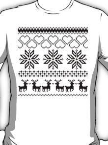 Winter time white T-Shirt