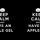 Keep Calm and Have an Apple Gel by a745