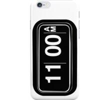 11AM iPhone Case/Skin