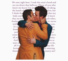 Klaine Proposal Speech by Quhethegleek