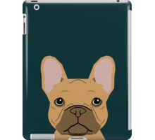 Willow - French Bulldog phone case art design for dog lovers and dog people iPad Case/Skin