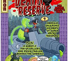Death Reserve Comic Book Issue #1 Cover by VonKreep