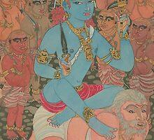 Bhairava-Shiva as the Master of Demons by Swagavad-Gita