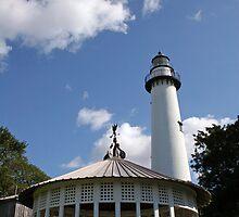 Lighthouse and Gazebo by dbvirago