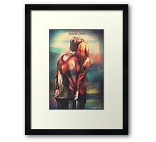Love In Hard Times Framed Print