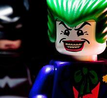 Joker and Batman by jarodface