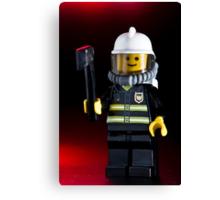 Fireman Sam Character Canvas Print