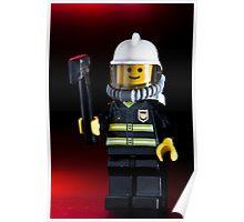 Fireman Sam Character Poster
