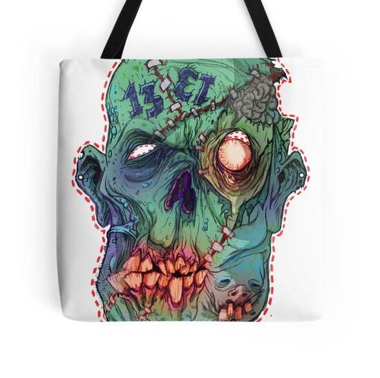 Trick-or-Treating 1313 Rotted Face by VonKreep Stocking Stuffer Gift Ideas for Your Guy