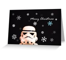Trooper Christmas card Greeting Card