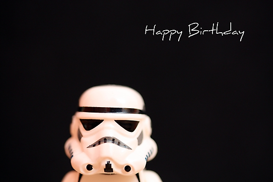 Trooper birthday card by puppaluppa