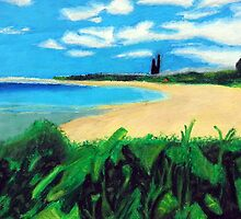 Beach Landscape by maximumcapacity