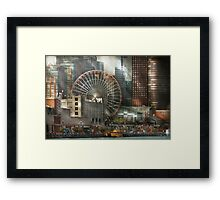 City - Chicago, IL - Pier Pressure Framed Print