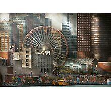 City - Chicago, IL - Pier Pressure Photographic Print