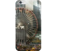 City - Chicago, IL - Pier Pressure iPhone Case/Skin