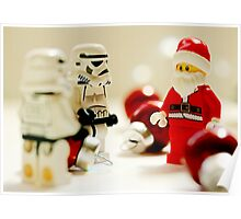 Santa's little troopers Poster