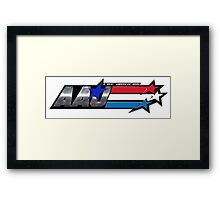 Abel Andrew Jackson - Real American Hero Framed Print