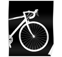 inverted bike Poster