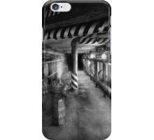 Steampunk - The steam tunnel iPhone Case/Skin