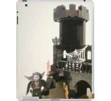Horror Castle with Ghost Minifig iPad Case/Skin
