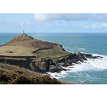 Cape cornwall and the sentinel. Photographic Print