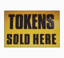 Tokens Sold Here by Dave Pearson