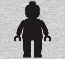 Minifig [Black]  Kids Clothes