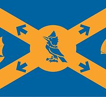Flag of Halifax, Nova Scotia  by abbeyz71