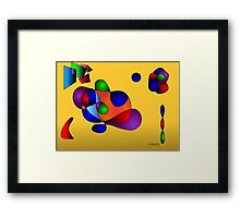 Study in Gradients Framed Print