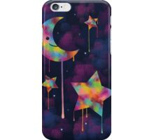 Colorful Moon and Stars iPhone Case/Skin