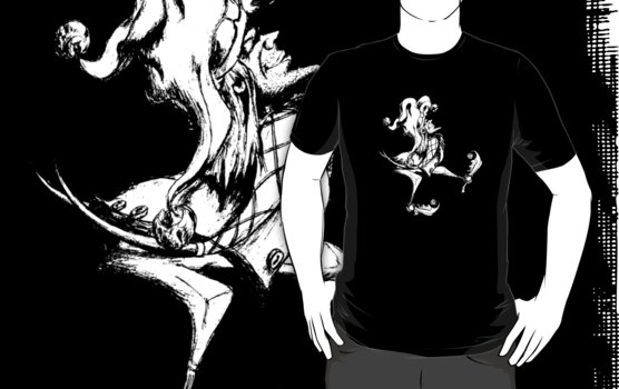 T-Shirt: Jester by Jeremy Evans