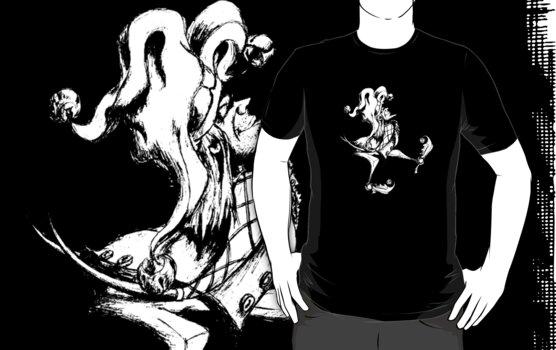 T-Shirt: Jester by Jeremy Evans
