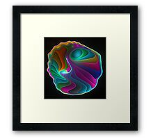 Colorful abalone shell  Framed Print