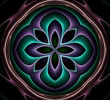 3d fractal mandala by pelmof