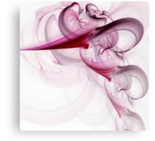 Fractal swirling smoke Canvas Print