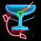 Martini in Neon by Karin  Hildebrand Lau