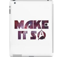 Make It So iPad Case/Skin