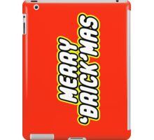 MERRY 'BRICK'MAS iPad Case/Skin