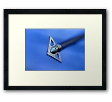 Get The Point Framed Print