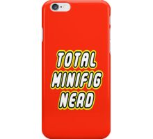 TOTAL MINIFIG NERD iPhone Case/Skin